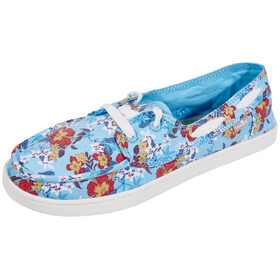 Sanük Pair O Sail Prints Shoes Women Aqua Waikiki Floral